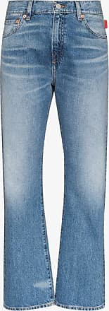Denimist Womens Blue Joni Straight Leg Jeans