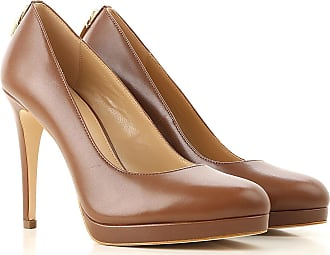 cf576c7b666 Michael Kors Pumps & High Heels for Women On Sale, Caramel, Leather, 2017