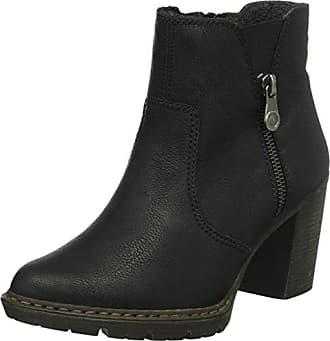 Rieker Damen Y9251 Kurzschaft Stiefel, (Schwarz   00), 37 EU 55d48bb3ad