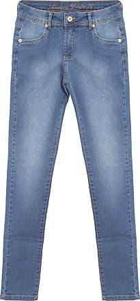 Aleatory Calça Jeans Feminina Aleatory Fashion-Azul Jeans-38