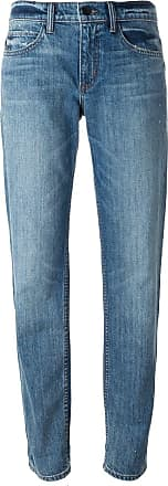 Helmut Lang stone washed boyfriend jeans - Blue