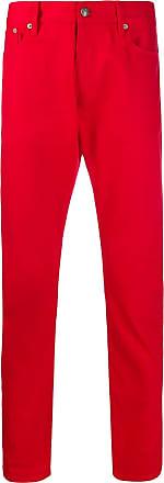 Ralph Lauren Purple Label Calça jeans reta - Vermelho