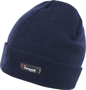 Result Unisex Lightweight Thermal Winter Thinsulate Hat (3M 40g) (Pack of 2) (One Size) (Navy Blue)