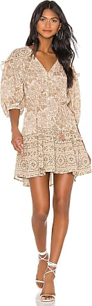 Spell & The Gypsy Collective Lioness Tunic Dress in Brown