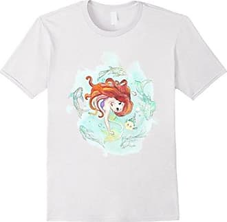 e5b98565ec2a8d Disney The Little Mermaid Watercolor Swim Graphic T-Shirt