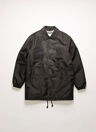 Acne Studios FA-UX-OUTW000024 Black Face motif coach jacket