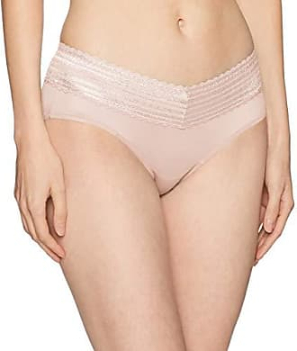 Warner's Womens No Pinches Lace Hipster Panty, Rosewater, 2XL