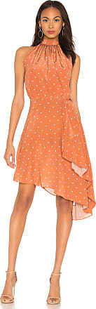 Auteur Georgia Dress in Burnt Orange