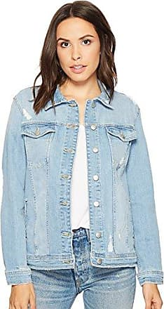 Joe's Womens MEMRIE Jacket, Destructed Light Blue, XS