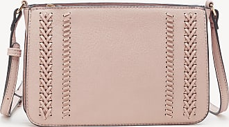Sole Society Womens Destin Crossbody Bag 3 Vegan Leather Blush From Sole Society