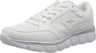 Kangaroos Womens Kr-rimble Sneaker, White/Vapor Gray, 5.5 Child UK