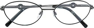 Pierre Cardin Óculos armação redonda - Metálico