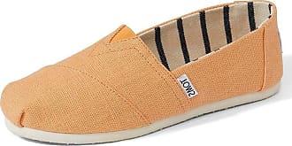 Toms Classic Orange Mist Heritage Canvas Womens Espadrilles Shoes-3
