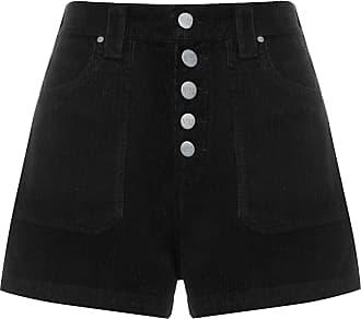 N.Y.B.D. Shorts 5 Botões Veludo - Preto