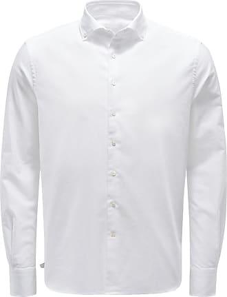 04651/ Casual Hemd Button-Down-Kragen weiß bei BRAUN Hamburg