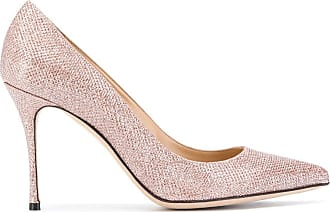 Sergio Rossi pointed toe 95mm pumps - Rosa