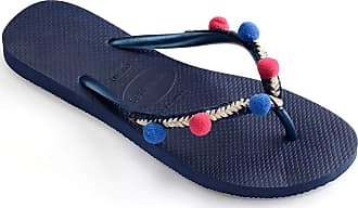 Havaianas Womens HAV Slim Boho Navy Blue Flip-Flop, Multicolor (Black), 6 Child UK