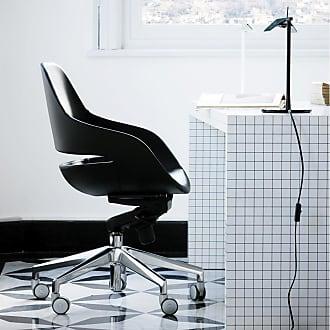 ZANOTTA Design Eva Office Chair Pelle Nappa Leather
