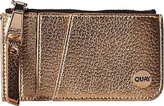 Quay Eyeware Top Zip Wallet (Rose/Rose) Handbags
