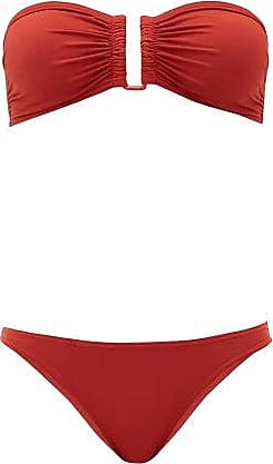 Eres Show & Fripon Bandeau Bikini - Womens - Red