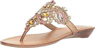 Yellow Box Womens P-Amee Heeled Sandal, Pastel Multi, 9 Medium US