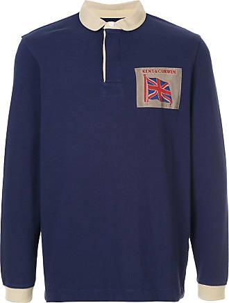Kent & Curwen longsleeved polo shirt - Blue