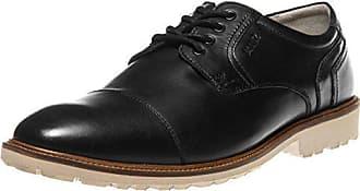 1def321f7390 Manz Business Schuhe in Übergrößen Schwarz 146051-03-001 große  Herrenschuhe, ...