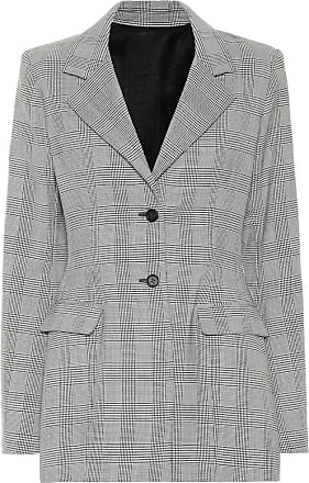 Unravel Check wool-blend blazer