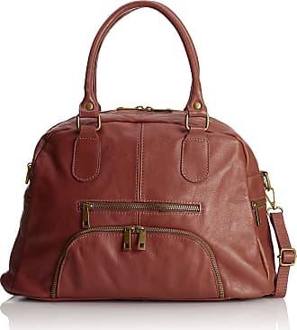 Chicca Borse Handbag women soft leather 47 x 29 x 21 cm - mod. Francesca