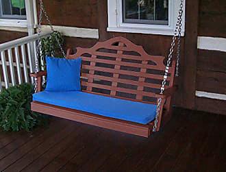 A & L Furniture A & L Furniture 867-CW Cherry Wood Poly Marlboro Swing, Cherrywood