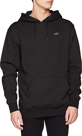 Vans Mens MN Basic Pullover FL Hoodie, Black (Black Heather VNBHH), XX-Large (Size:XXL)