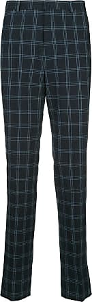 Durban checked tailored trousers - Blue