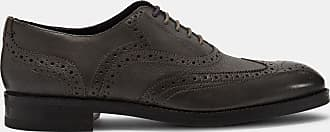 Ted Baker Leather Brogue Shoes in Grey ALMHANO, Mens Accessories