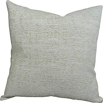 Plutus Brands Plutus Spoft Stire Cornflower Handmade Throw Pillow 16 x 16 Blue/Mustard/Lavender