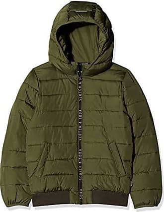 Scotch /& Soda Lightweight Padded Jacket with Double Breasted Closure Chaqueta para Ni/ñas
