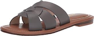 Kenneth Cole Womens Slide Sandal, Swirl Upper Grey Size: 9.5