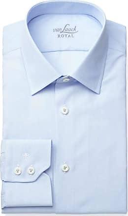 Van Laack Tailor Fit Hemd hellblau, Einfarbig
