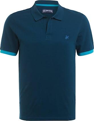 Vilebrequin Piqué-Poloshirt - BLAU