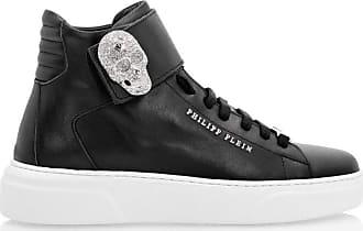 Philipp Plein High Top Sneakers Women Black Size 36 EU