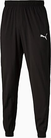 Puma Active Mens Woven Pants, Black, size 2X Large, Clothing