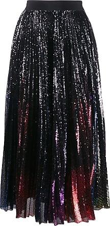 Msgm tulle glitter midi skirt - Black