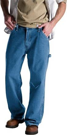 Dickies Mens Relaxed Fit Carpenter Jean, Stone Washed, 44x32