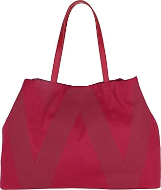 Max Mara Mania Tote Bag Cherry Shopping Bags rood