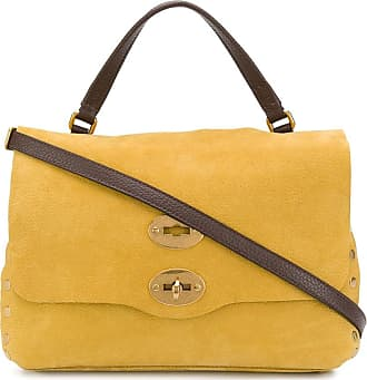 Zanellato Postina studded tote bag - Yellow