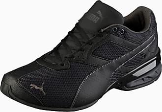 Puma Tazon 6 Mesh Herren Sneaker Schuhe | Mit Aucun | Schwarz/Grau | Größe: 40.5