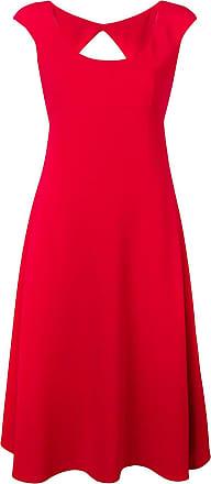Aspesi Vestido evasê midi - Vermelho