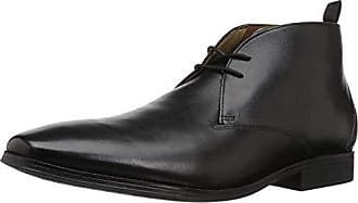 Clarks Mens Gilman Mid Fashion Boot, Black Leather, 085 M US