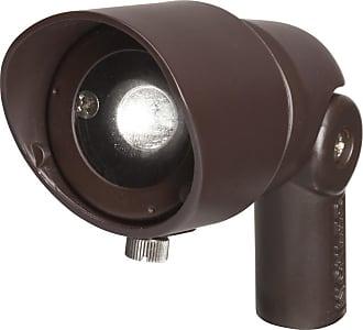 Kichler Landscape 2700K 35 Deg 3W LED Flood Light in Bronzed Brass