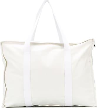 Kassl Editions Bolsa tote média com alça contrastante - Branco