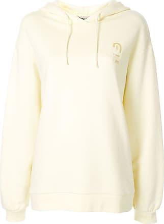 être cécile Cecile Patch Aurelia hoodie - Yellow